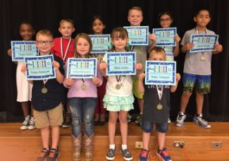 Character awards for October trustworthy